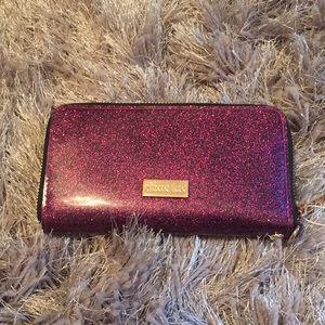 NWT Glitter Wristlet Wallet